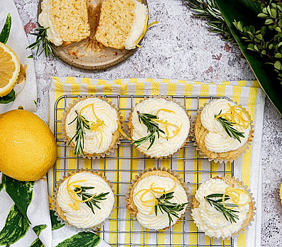 Lemon Etrog Cupcakes for Sukkot