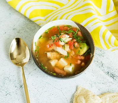 Lime in Chicken Soup by Rebecca Lehrer